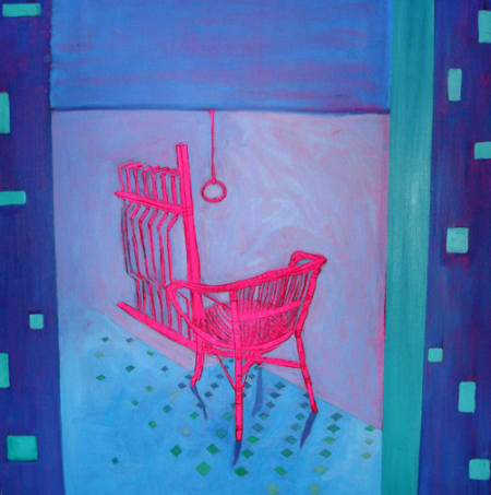 balcony with chair 80x80 cm