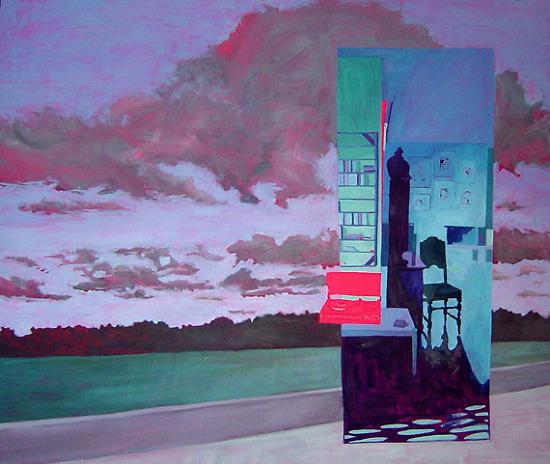 melancholy   145x170 cm
